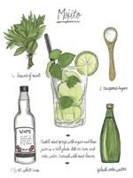 Classic Cocktail - Mojito Fine Art Print
