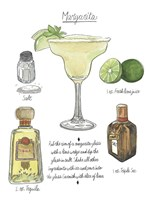 Classic Cocktail - Margarita Framed Print