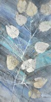 Silver Leaves II Fine Art Print