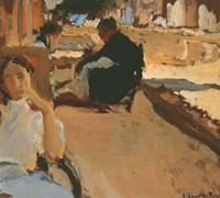 Valencian Sketch no1 (Calle del Cabanal, Valencia), ca 1902 Fine Art Print