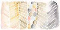 Watercolor Chevron Fine Art Print