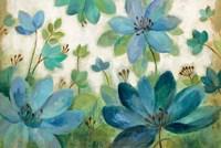 Peacock Bloom Fine Art Print