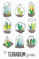 My Terrarium Garden Fine Art Print