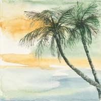 Island Sunset II Fine Art Print