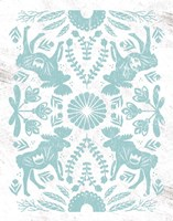 Otomi Moose Fine Art Print