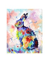 Color Hare Fine Art Print