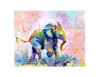 Colorful Elephant Fine Art Print
