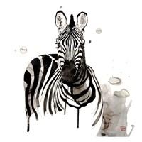 Zebra I Fine Art Print