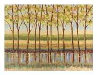 Reflections Along the River Fine Art Print