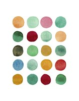 Series Colored Dots No. I Fine Art Print