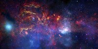 The central Region of the Milky Way Galaxy Fine Art Print