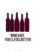 Wine Sentiment I Fine Art Print
