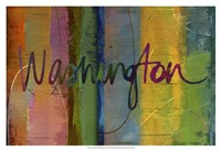 Abstract Washington Fine Art Print