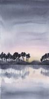 Bayside Sunset I Framed Print