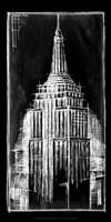 Empire State Blueprint Fine Art Print