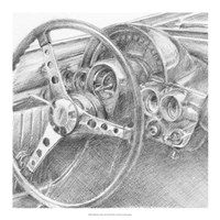 Behind the Wheel II Fine Art Print