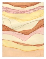 Canyon Cascade I Framed Print