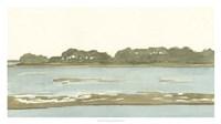 Spa Coastline II Framed Print