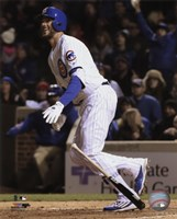 Kris Bryant 2016 Action Fine Art Print