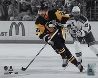 Kris Letang 2015-16 Spotlight Action Fine Art Print