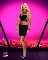 Mandy Rose 2016 Total Divas Fine Art Print