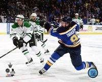 Vladimir Tarasenko 2016 Stanley Cup Playoffs Action Framed Print