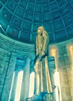 Jefferson Memorial 3 Fine Art Print