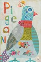 Pigeon Fine Art Print