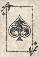 Ace of Spades Fine Art Print