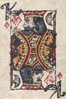 King of Diamonds Fine Art Print