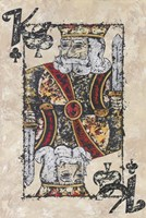 King of Clubs Fine Art Print
