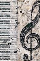 Symphony in Piano Fine Art Print