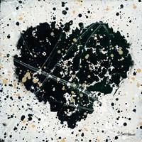 Emotions Scenes Black Heart Fine Art Print