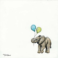 Nursery Elephant Fine Art Print