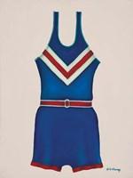 Blue Uniform Fine Art Print