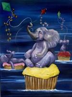 When Elephants Fly Fine Art Print