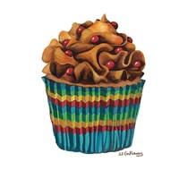 Carny Cupcake Fine Art Print