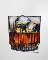 Scotch on the Rocks Fine Art Print