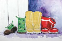 Rain Boots Fine Art Print