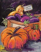 Fall Vegetables Fine Art Print