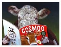 Cow Tips Fine Art Print