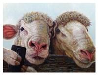 Selfie Fine Art Print