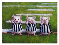 Three Blind Mice Fine Art Print
