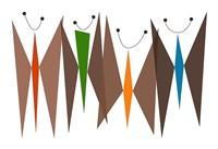Butterflies - Browns Fine Art Print
