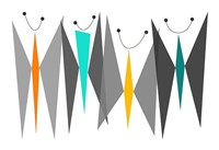 Butterflies - Grays Fine Art Print