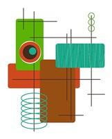 Modop in Green Fine Art Print