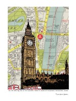 Parliament and Big Ben London Fine Art Print