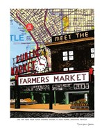Pike Place Market Seattle Fine Art Print