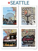 Seattle Poster Fine Art Print