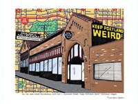 Keep Portland Weird Music Millennium Fine Art Print